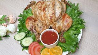 КУРИЦА В ДУХОВКЕ ☆ Roast Chicken Recipe How to Cook a Whole Chicken☆БЛЮДА ОТ УЗБЕЧКА