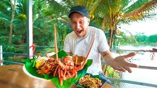 Delicious THAI Monster for $8 / Farm House in Thailand / Motorbike Food Tour in Phang Nga