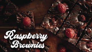 How to make RASPBERRY Brownies | EASY RECIPE | ASMR Cooking